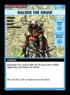 Balder The Druid - Custom Card