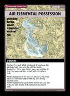 Air Elemental Possession - Custom Card