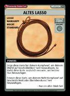 Altes Lasso - Custom Card