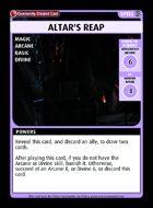 Altar's Reap - Custom Card