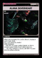 Alana Silverheart - Custom Card