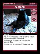 Boredom - Custom Card