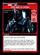 You Are A Cylon - Custom Card
