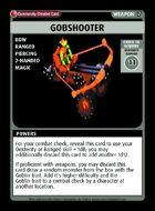 Gobshooter - Custom Card