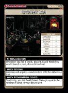 Alchemy Lab - Custom Card
