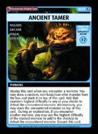 Ancient Tamer - Custom Card