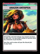 Amazon Antiopeia - Custom Card