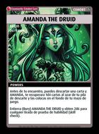 Amanda The Druid - Custom Card