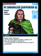 Pf Chronicler (supporter 0) - Custom Card