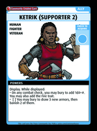 Ketrik (supporter 2) - Custom Card