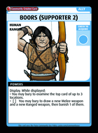 Boors (supporter 2) - Custom Card