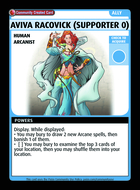 Aviva Racovick (supporter 0) - Custom Card