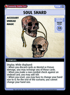 Soul Shard - Custom Card