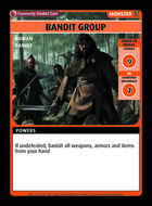 Bandit Group - Custom Card