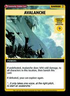 Avalanche - Custom Card