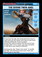 The Divine Twin Anel - Custom Card