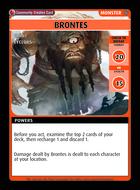 Brontes - Custom Card