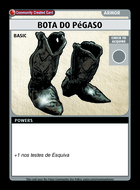 Bota Do Pégaso - Custom Card