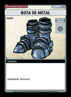 Bota De Metal - Custom Card