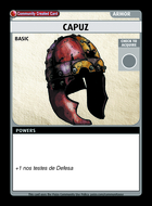 Capuz - Custom Card