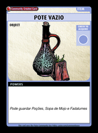 Pote Vazio - Custom Card