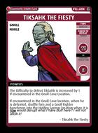 Tiksahk The Fiesty - Custom Card