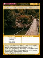 Where Did The Bridge Go?! - Custom Card