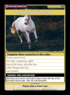 Hot On Our Trail - Custom Card