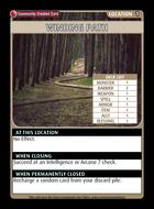 Winding Path - Custom Card