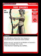 Tree Singers - Custom Card