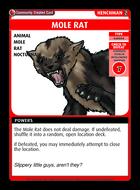 Mole Rat - Custom Card