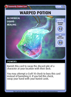 Warped Potion - Custom Card