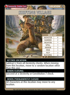 Shifting Village - Custom Card