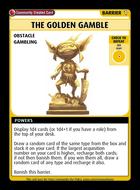 The Golden Gamble - Custom Card