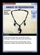 Amulet Of Rejuvenation - Custom Card