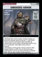 Shrouded Armor - Custom Card
