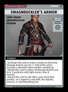 Swashbuckler's Armor - Custom Card