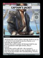 Captain's Jacket - Custom Card