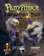 Ponyfinder - Forgotten Past - Second edition