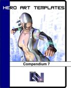 Hero Art Templates Compendium 7
