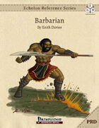 Echelon Reference Series: Barbarian (PRD-Only)