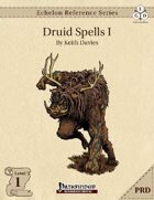 Echelon Reference Series: Druid Spells I (PRD-Only)