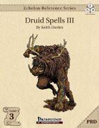 Echelon Reference Series: Druid Spells III (PRD-Only)
