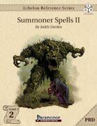 Echelon Reference Series: Summoner Spells II (PRD-Only)