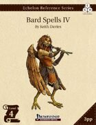 Echelon Reference Series: Bard Spells IV (3pp+PRD)