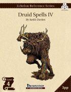 Echelon Reference Series: Druid Spells IV (3pp+PRD)