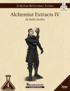 Echelon Reference Series: Alchemist Extracts IV (3pp+PRD)