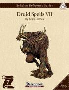 Echelon Reference Series: Druid Spells VII (3pp+PRD)