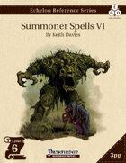 Echelon Reference Series: Summoner Spells VI (3pp+PRD)