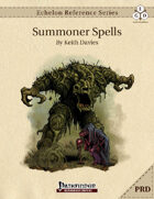 Echelon Reference Series: Summoner Spells Compiled (PRD-Only)